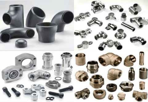 Pipe Fittings, Fixtures, Bends, Ball Valves, Check Valves, Butterfly Valves, Globe Valves, Control Valves, Backflow Preventors, Plug Valves, Gaskets, Flanges, Fasterners, Accessories of CI Cast Iron, MS Mild Steel, GI Galvanised Iron, Coated Steel SS_Stainless_Steel_Bronze_Brass