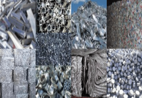 Aluminium Scrap Tense, Taint Tabor, Telic, Tread, Troma, Teens, Talk, Taldrok, UBC, Talon, Tablet as per ISRI
