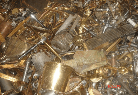 Brass Scrap Honey as per ISRI