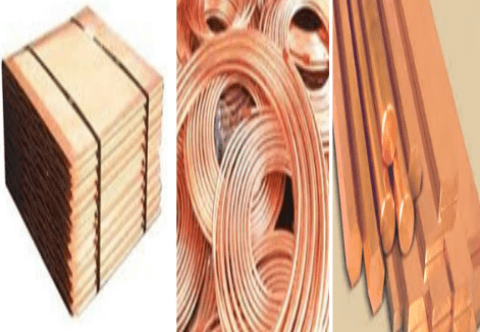 Copper Cathodes, Remleted Ingots, Wire Bars, Copper Rods 8mm, Copper Tubes